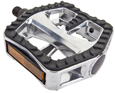 Cruiser Pedal - Sunlite Cruiser Pedals w/ Rubber Surface, 1/2