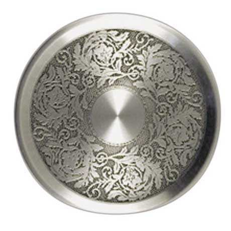 Royal Selangor Hand Finished Generic Collection Pewter Acanthus Coaster Set(6 pieces) by Royal Selangor