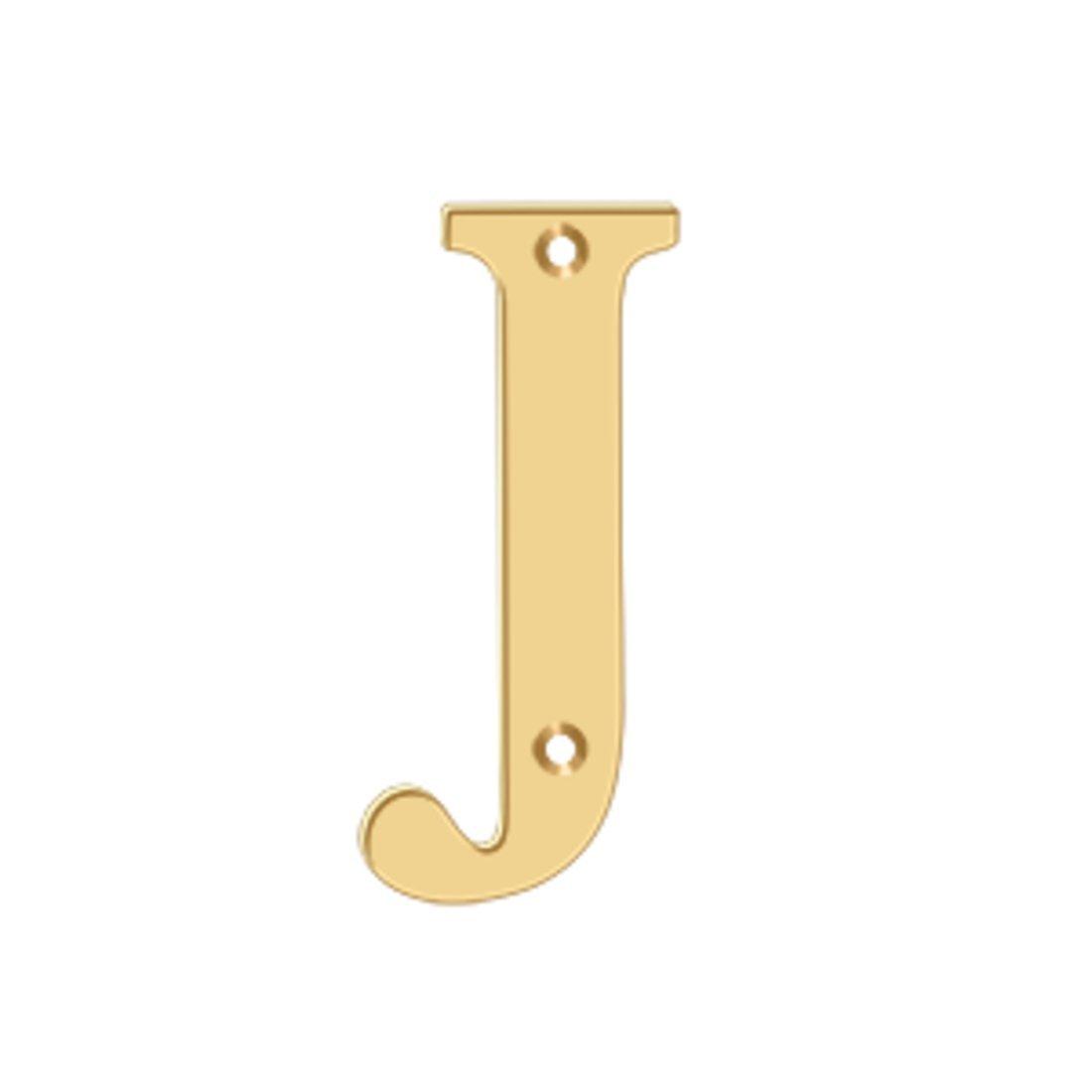 4で。ソリッド真鍮住宅用文字10セット( J – PVD ) B00858K6YO