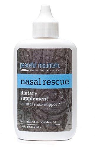 Peaceful Mountain Nasal Rescue Sinus Spray 1 5 Ounce