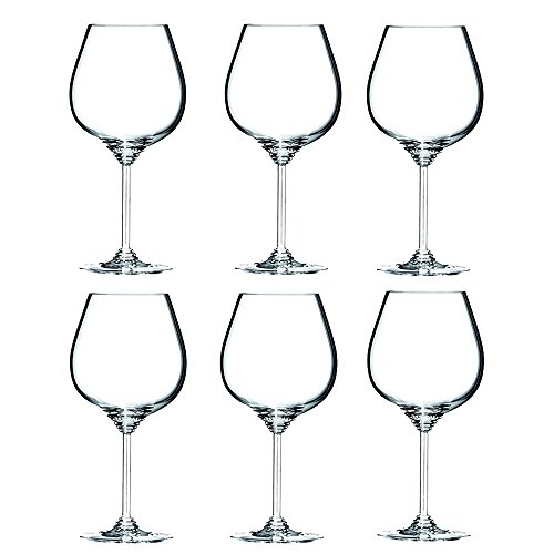 Riedel 644807 Wine Series Pinot Noir Glass, Set of 6 (Glass Wine Riedel Set)