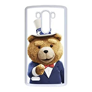 LG G3 Cell Phone Case White Ted VJE Phone Case Sports Generic