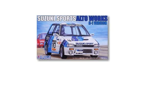 Amazon.com: 1/24 K Car Series K Car 96 Suzuki Alto Works touring N1 specification out of print: Toys & Games