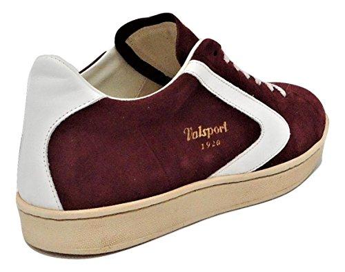 VALSPORT , Baskets pour homme rouge bordeaux 44