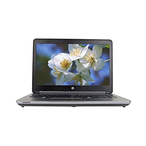 (HP ProBook 640 G1 14in Laptop, Core i5-4300M 2.6GHz, 8GB Ram, 750GB HDD, DVDRW, Windows 10 Pro 64bit, Webcam (Renewed))
