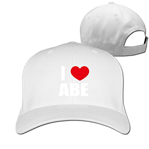 manwoman-i-love-abe-i-love-abraham-heart-fitted-hat-white