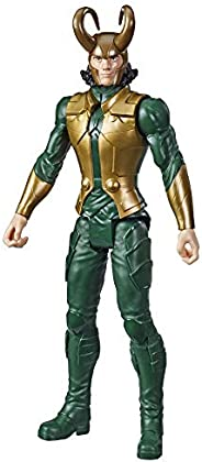 Avengers Marvel Titan Hero Series Blast Gear Loki Action Figure, 12