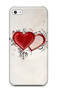 Shock-dirt Proof Love Case Cover For Iphone 5c