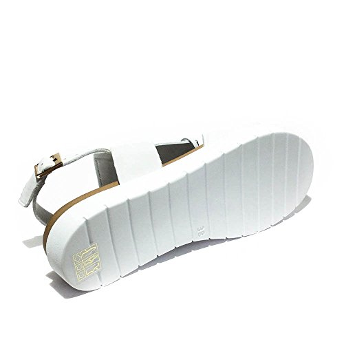 Inuovo sandalo nuovo pelle con frangia removibile art.5117