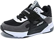 HOBIBEAR Kids Lightweight Tennis Shoes Athletic Casual Running Shoes Breathable Sneakers for Boys Girls