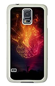 Samsung S5 case customized Cup Of Stuff Art PC White Custom Samsung Galaxy S5 Case Cover