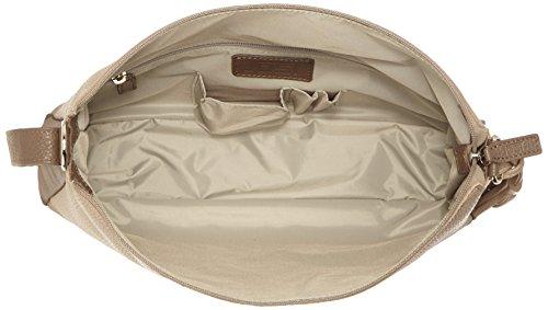 Jost Vika Triangle Tote Handtasche, Sisal/Linen