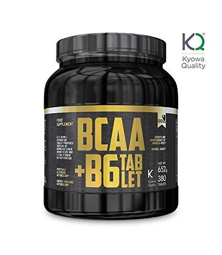 4 opinioni per BCAA + B6- Gold's Nutrition- Aminoacidi Ramificati Kyowa 380 cpr da 1g con