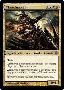 Magic: the Gathering - Thraximundar - Alara Reborn