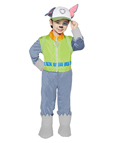 Spirit Halloween Toddler Paw Patrol Costume - Rocky Green -