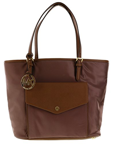 Michael Kors Large Pocket Multifunction Tote Handbag in Dusty - Gold Michael Bag Kors Rose