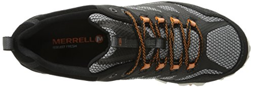 Black Men's Shoe Hiking Moab Merrell FST Yq4PfU8n