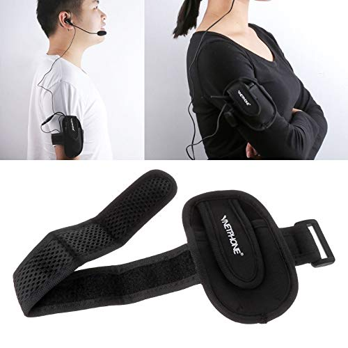 Small-Chipinc - Referee Interphone Armband Bag Headset Armlet Headset Rider Portable Bag Case