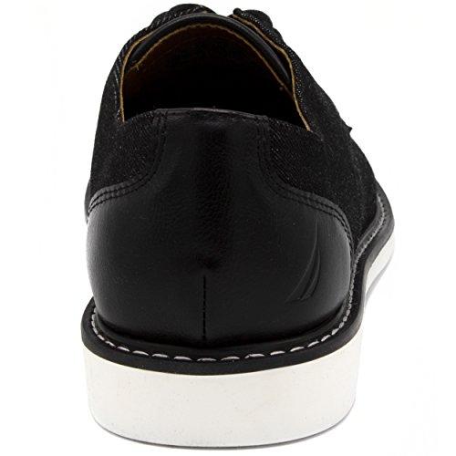 Nautica Men's Admore Oxford Shoe, Business Casual Fashion Sneaker -Admore-Black-10 by Nautica (Image #2)