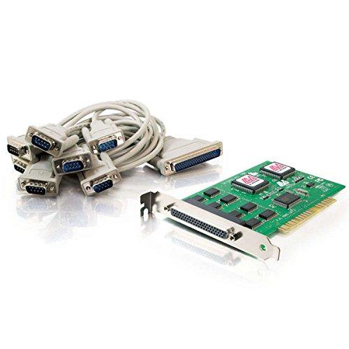 C2G 26806 Lava Octopus Tarjeta serial PCI 16550 DB9 de 8 puertos