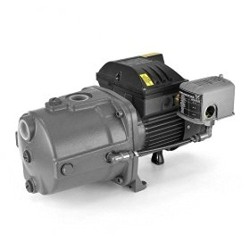 Grundfos JP05S-CI Cast Iron Shallow Well Jet Pump, 1/2 HP, 115/230V