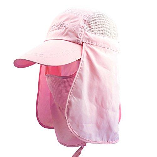RICHY GLORY - Sunshade UV Protection Sun Hat Fishing Bucket Cap - Glory Pink Salmon