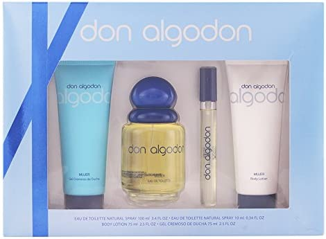 Don Algodon Set de Agua de Colonia, Agua de Colonia Mini, Gel de ...