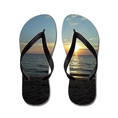 827d32a0bce CafePress - Down South At The Beach - Flip Flops