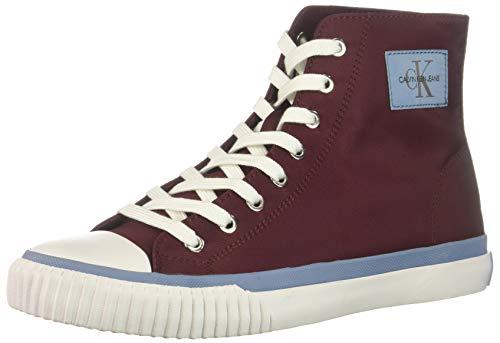 CK Jeans Men's IONA Sneaker Dark Burgundy Nylon 11 M US ()