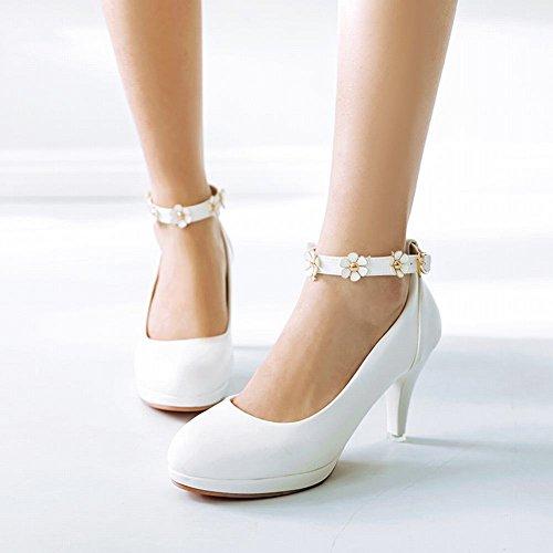 Tacco Alto Da Sposa Con Cinturino Alla Caviglia E Tacco Alto Da Donna
