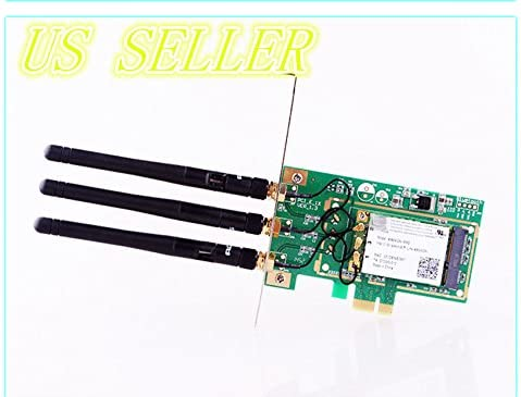 Generic 300Mbps PCI  E WiFi wireless Card Adapter Antennas for Desktop Laptop PC Networking Devices