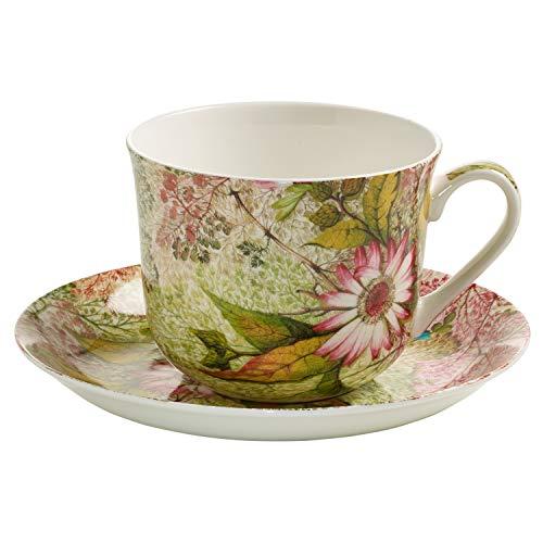 (Maxwell & Williams Kilburn, Cup 4 Breakfast + Saucer, Daydream, Porcelain, WK04300)