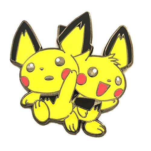 Pokemon Enamel PIN - Pichu BROS. - Custom 1.5 INCH