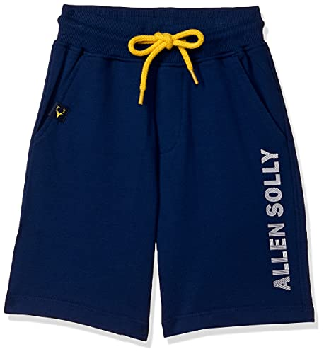 Allen Solly Junior Boy's Boyfriend Shorts Regular Polycotton Casual