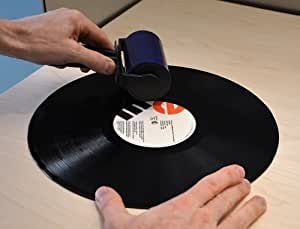 In The Groove Record Cleaner - Liquid Free Reusable - Cleans Vinyl Records in Seconds
