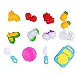 12PCS Pretend Toy Food Cutting Fruit Vegetable Pretend Play Children Kid Educational Play Set