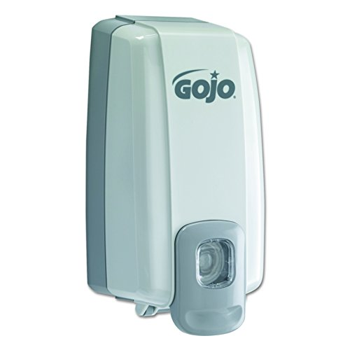 Nxt 1000ml Lotion - GOJO 2130-06 NXT Space Saver Dispenser for 1000 mL Refills, Dove Gray
