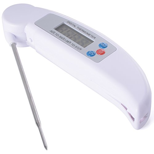 TBBSC Digital Kitchen Cooking Food Meat Thermometer for Grill BBQ Candy Beef Milk Bath Water