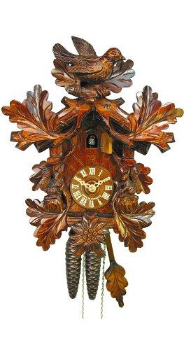 (August Schwer Cuckoo Clock Bird, Squirrel)
