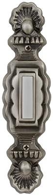 Craftmade PB3031-AP Designer Surface Lighted Push Doorbell Button