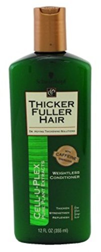 Thicker Fuller Hair Weightless Conditioner Cell-U-Plex 12oz. (3 Pack) (Thicker Fuller Hair Revitalizing Shampoo)