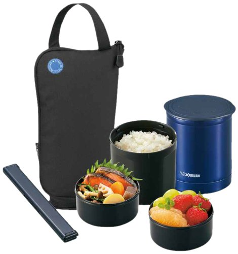 Zojirushi SZ-JA02BA Mini Bento Lunch Jar, Black