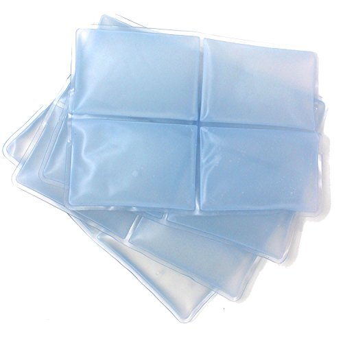 New Home Innovations 4 x Cool Vest Replacement Packs for NHI Cooling ()
