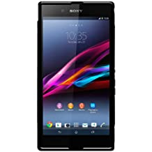 Amzer AMZ95976 Dual Tone TPU Hybrid Skin Fit Case Cover for Sony Xperia Z Ultra XL39h-Retail Packaging-Black
