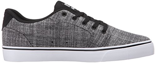 DC Men's Anvil TX SE Skateboarding Shoe, Grey Heather, 7 M US