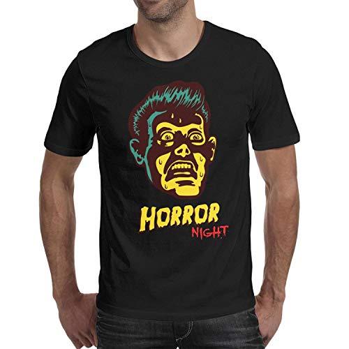 Halloween Figures Devil Head Men's t Shirts Cool Man Halloween Costume -