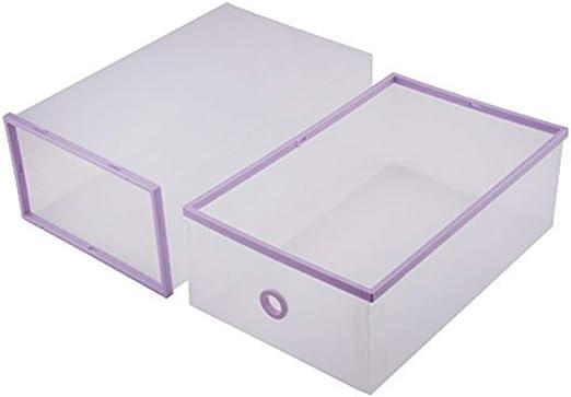 Embalado con 8 Cajas De Zapatos Plegables Transparentes, Caja ...