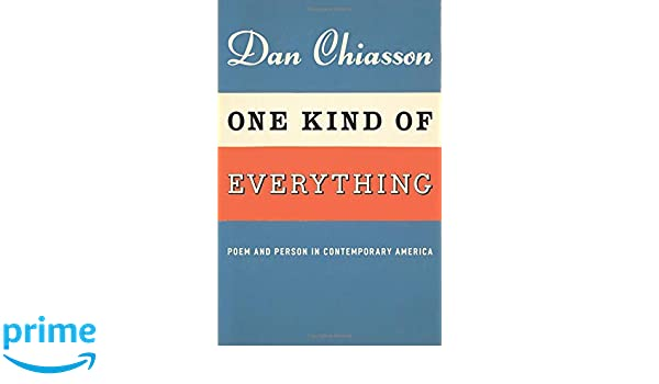 one kind of everything chiasson dan