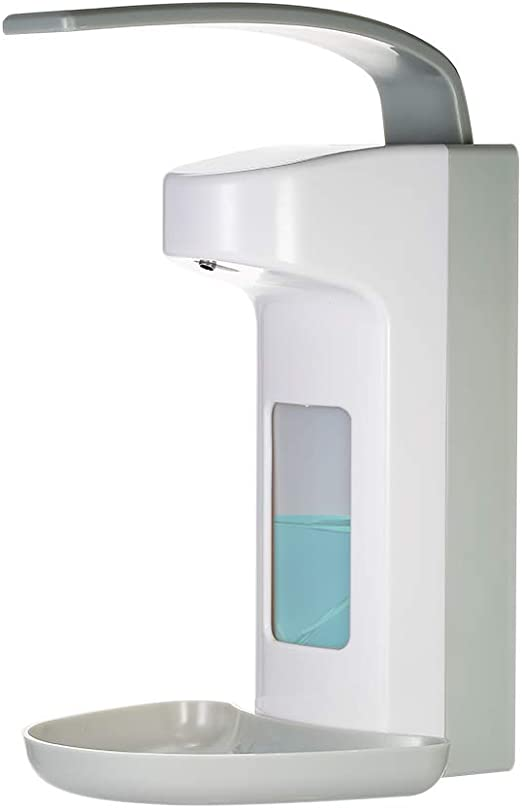 Wall Mounted Soap Dispenser Bathroom Sanitizer Shampoo Shower Container 500ML
