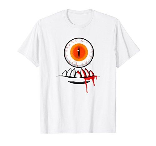 Costume HALLOWEEN SHIRT - One Eyed Monster Costume Tee -